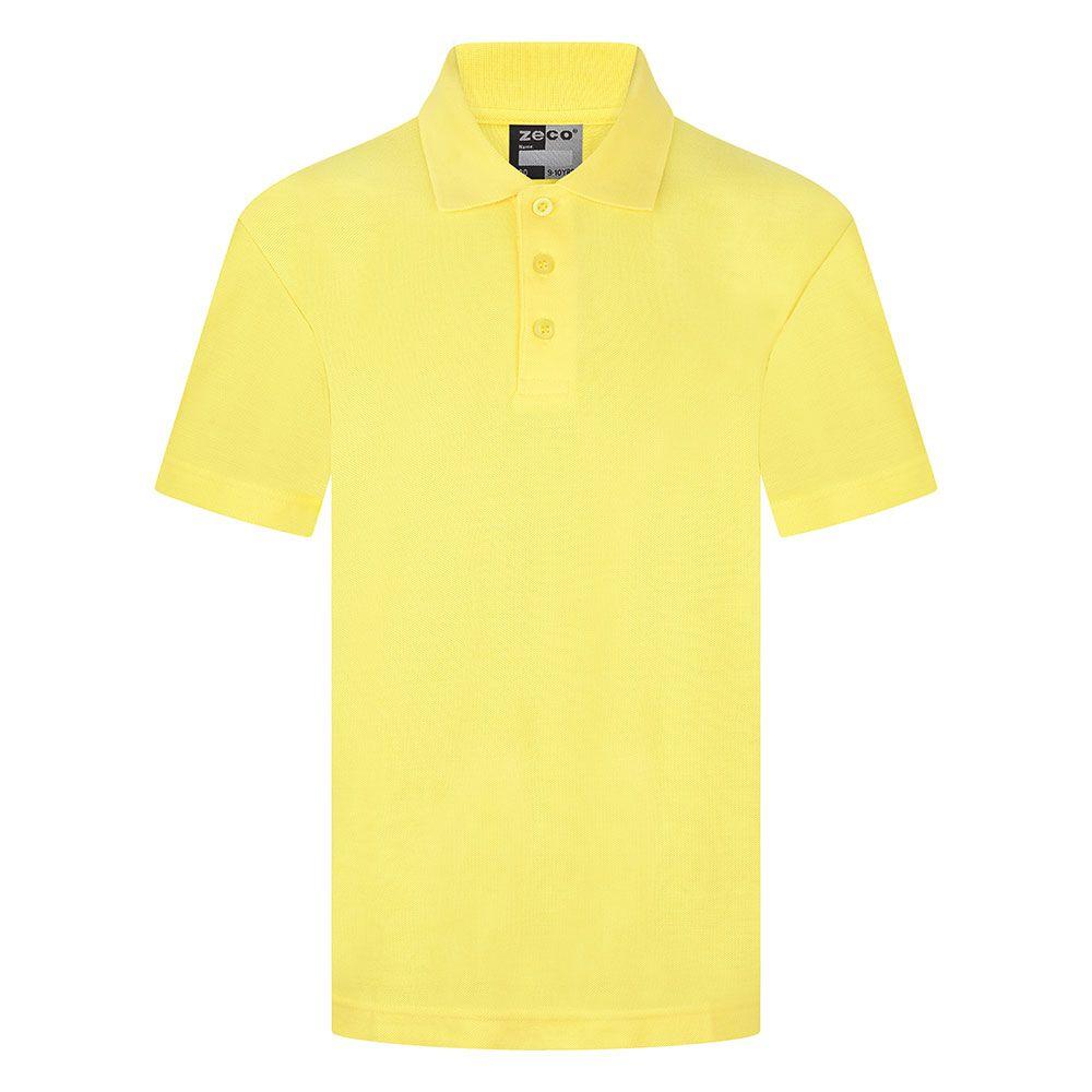 yellow polo shirt age 2-3
