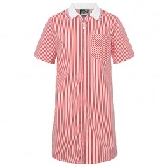 a line striped school dress (3-14 yrs)