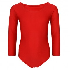 girls plain school leotard