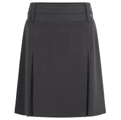 lycra four button school skirt (2-13 yrs)