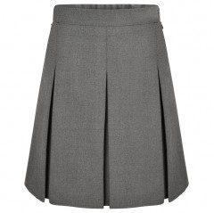 new stitched down box pleat school skirt