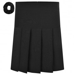 lycra pleated school skirt