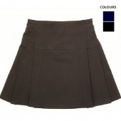pleated bengaline school skirt