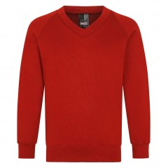 v neck school sweatshirt (24-36'')