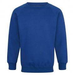 frant embroided crew neck sweatshirt