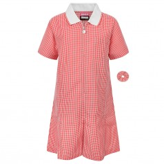 Girls Large Size School Uniform